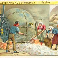 2 Aecht-Franck Serie-Fabrikationsbetrieb Papier
