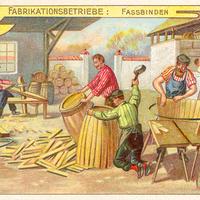 4 Aecht-Franck Serie-Fabrikationsbetrieb Fassbinden