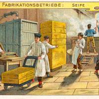 5 Aecht-Franck Serie-Fabrikationsbetrieb Seife