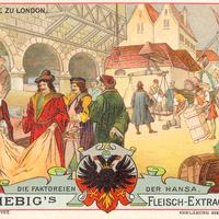 Liebig s-Fleisch-Extract-Karten Im-Stahlhofe-zu-London neu