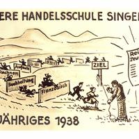 Singen Handelschule 1938