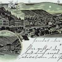 Calw Handelsschule ca. 1899