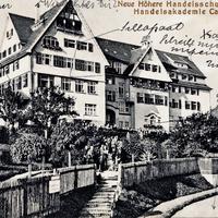 Calw Neue Höhere Handelsschule und Handelsakademie 1912