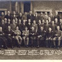 Döbeln Handels-Schule (Klasse) 1918-19
