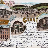 Gera Amthorsche höhere Handelsschule und Akademie, 1901