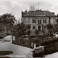 Glauchau Vereinigte technische Schulen und Handelsschulen, ca 1932