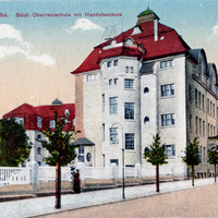 Gotha Städtische Oberrealschule mit Handelsschule, ohne Datum