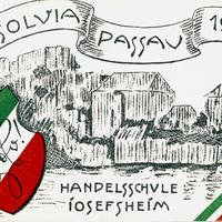 Passau Handelsschule Josefsheim Absolvia 1926