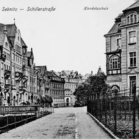 Sebnitz Handelsschule Schillerstraße, ca. 1933