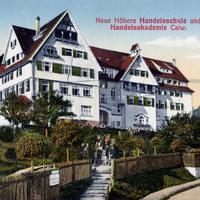 Calw Neue Höhere Handelsschule und Handelsakademie, 1914