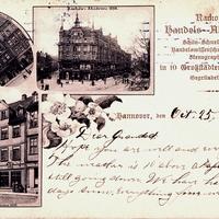 Hannover Rackows Handels Akademien 1890, 1892 und 1898