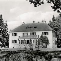 Bad Tölz, Schullandheim Riemerschmid Handelsschule (Stempeldatum 1959)