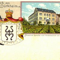 Dürkheim a.H., Pensionat, Gewerbe- und Handelsschule von H. Bärmann