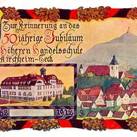 Kirchheim-Teck, Zur Erinnerung an das 50jährige Jubiläum der höheren Handelsschule 1862 - 1912