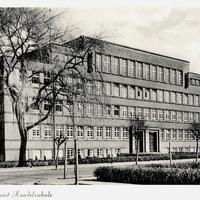 Lünen, Berufs- und Handelsschule (Stempeldatum 1956)