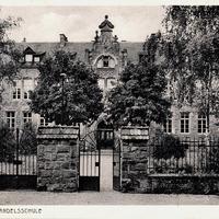 Lahr i.B., Handelsschule (Stempeldatum 1932)