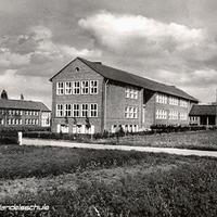 Lohne i.O., Handelsschule (Stempeldatum 1957)