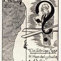 Singen, Höhere Handelsschule, Mittlere Reife, Einjähriges 1937, Kl. H. II. 2