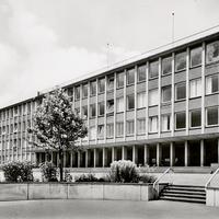 Solingen, Städtische Berufs- und Handelsschule (Stempeldatum 1963)