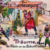 Zur Frauenbewegung, Träume der Fraun von der Zukunftsehe-2