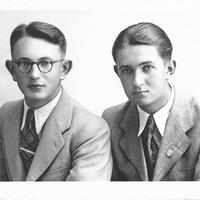 München, Porträts zweier Jungen aus Konglomerat Hanse Heime