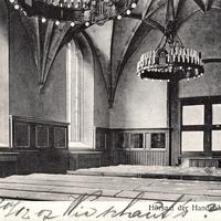 Berlin Hörsaal der Handelshochschule, 1907
