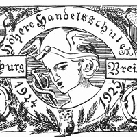 Freiburg Breisgau, Höhere Handelsschule Absolvia 1924/25