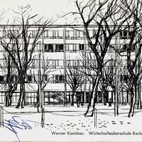 Karlsruhe, Wirtschaftsoberschule, Kriegsst.
