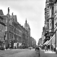 Heilbronn,-Einkaufsstraße-Alt-Heilbronn,-Obere-Kaiserstraße,-1927