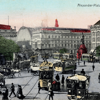 Berlin_Alexander-Platz, Lehrer Aatauer Handelsschule -Poststempel-1910