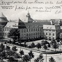 Köln_Handelshochschule,-Poststempel-1912