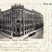Deutsche-Bank,-Berlin,-Mauerstr,-Ecke-Behrensstr, 1908