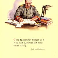 Dresdner-Bank,-Werbung-Ausspruch-Hindenburg-Ohne-Sparsamkeit..