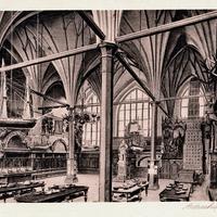 Danzig,-Artushof-Börse,-Innenansicht, 1945