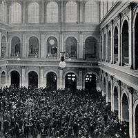 Hamburg,-Börse-zur-Börsenzeit, 1909