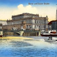 Königsberg,-Börse-und-Grüne-Brücke