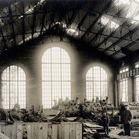 Essen,-Krupp-Werke,-Maschinenhalle