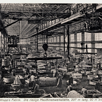 Essen,-Krupp's-Fabrik,-Maschinenwerkstätte