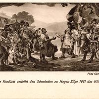 Hagen,-Kaufmannsschule-Hagen,-Wandgemälde-der-Aula-von-Fritz-Gärtner