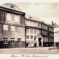 Hagen,-Neue-Kaufmann-Schule, 1918