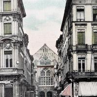Antwerpen -Außenansicht-der-Börse