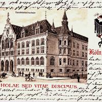Köln,-Handelshochschule,-Non-scholae-sed-vitae-discimus, 1903