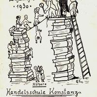 Konstanz,-Höhere-Handelsschule,-Einjähriges-1930