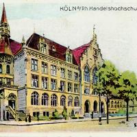 Köln -Handelshochschule -Poststempel-1911