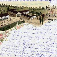 Schapen -Handelsschule -Poststempel-1897