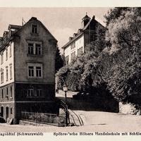 Calw -Spöhrer sche-Höhere-Handelsschule-mit-Schülerwohnhaus