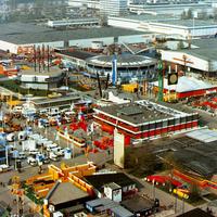 Hannover -Blick-vom-Hermesturm-auf-Messegelände