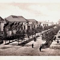 Leipzig -Weltausstellung-für-Buchgewerbe-und-Graphik -Leipzig-1914 -Straße-der-Nationen