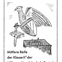 Rastatt -Absolvia-Mittlere-Reife-der-Klasse-II 2 -der-Höheren-Handelsschule-Ostern-1938