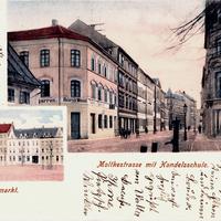 Bautzen -Handelsschule -Moltkestrasse